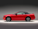 Images of Mustang GT Convertible 2005–08