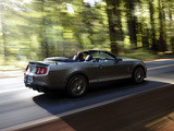 Images of Shelby GT500 Convertible SVT 2009–10