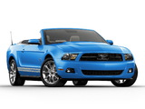Images of Mustang Convertible 2009–12
