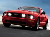 Mustang GT 2005–08 wallpapers
