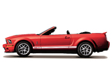 Shelby GT500 Convertible 2005–08 wallpapers