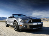 Shelby GT500 Convertible SVT 2009–10 images