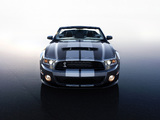 Shelby GT500 Convertible SVT 2009–10 photos