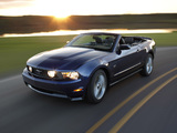 Mustang GT Convertible 2009–12 pictures