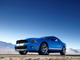 Shelby GT500 2009–10 wallpapers