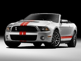 Shelby GT500 SVT Convertible 2010–11 images