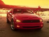 Photos of Mustang GT Convertible Concept 2003