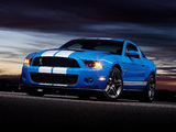 Photos of Shelby GT500 2009–10