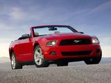 Photos of Mustang Convertible 2009–12