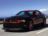 Photos of Mustang Boss 302 Laguna Seca 2010