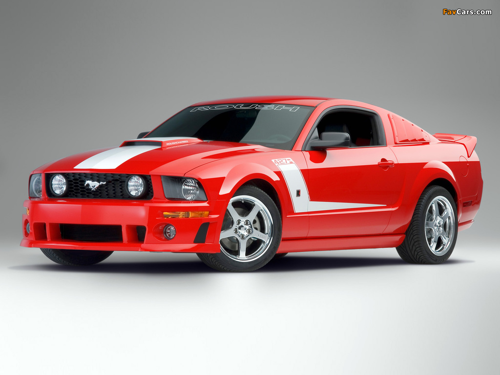 Pictures of Roush 427R 2007–09 (1024 x 768)