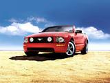 Mustang GT Convertible 2005–08 wallpapers