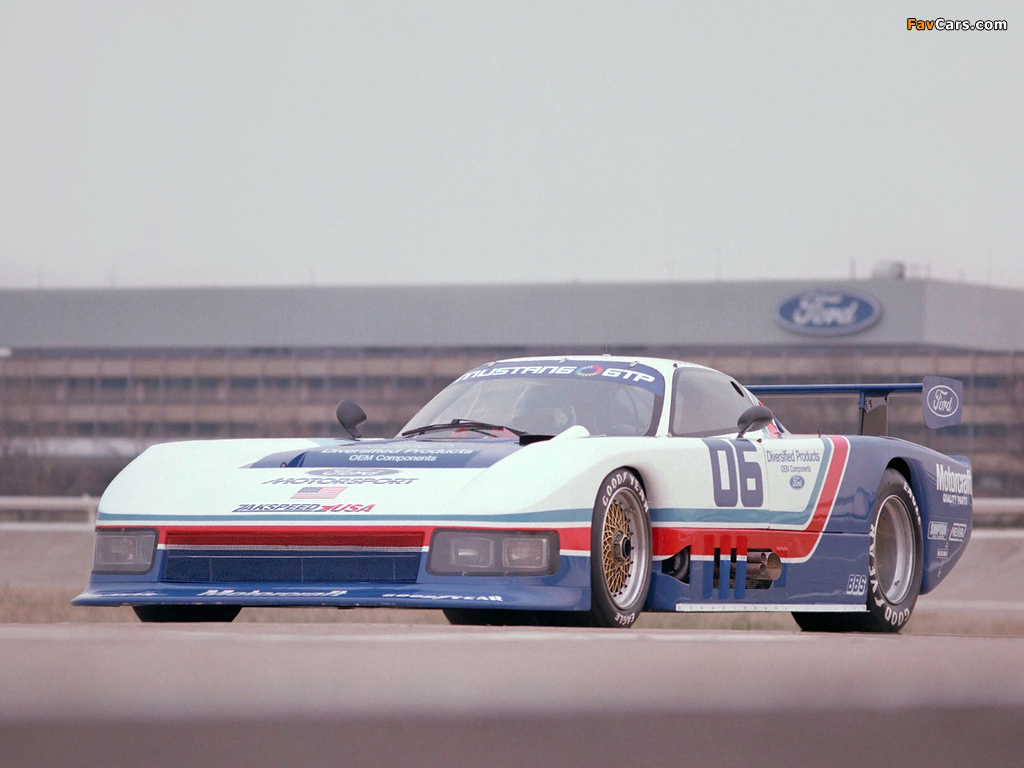Pictures of Mustang GTP 1983 (1024 x 768)