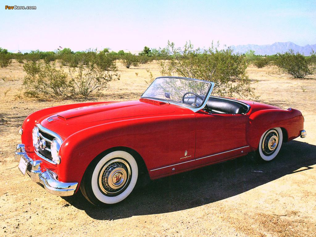 Nash-Healey Roadster 1952–53 images (1024 x 768)