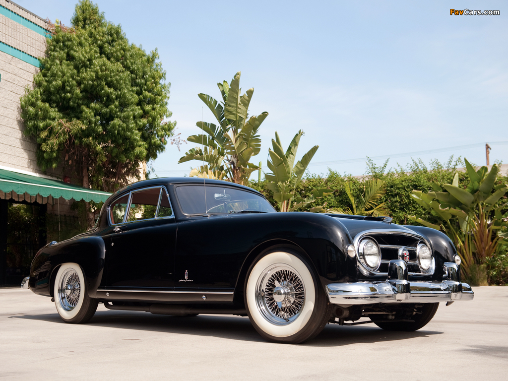 Nash-Healey Le Mans Coupe 1953–54 wallpapers (1024 x 768)