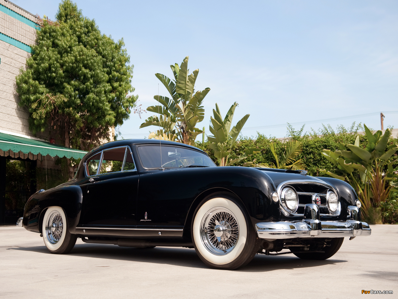 Nash-Healey Le Mans Coupe 1953–54 wallpapers (1280 x 960)