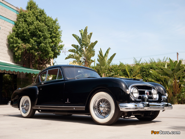 Nash-Healey Le Mans Coupe 1953–54 wallpapers (640 x 480)