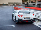 Nissan GT-R Nismo UK-spec (R35) 2017 wallpapers