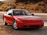 Nissan 240SX SE 3-door Hatchback (S13) 1991–93 pictures
