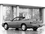 Nissan 240SX Convertible by ASC (S13) 1992–93 wallpapers