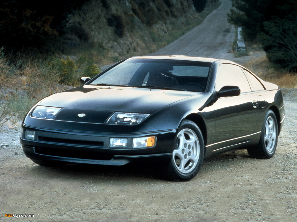 Images of Nissan 300ZX T-Top US-spec (Z32) 1990–96 (1024 x 768)