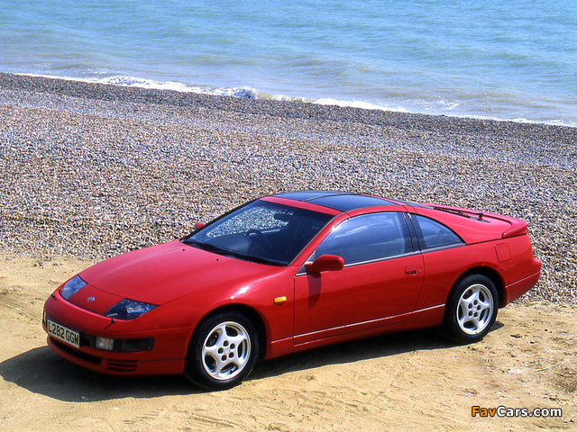 Nissan 300ZX Twin Turbo 2+2 T-Top UK-spec (Z32) 1990–94 pictures (640 x 480)