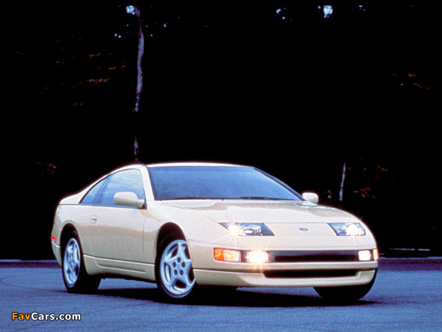 Nissan 300ZX T-Top US-spec (Z32) 1990–96 wallpapers (640 x 480)