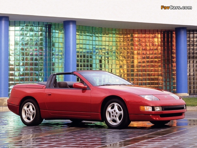 Nissan 300ZX Convertible (Z32) 1993–96 pictures (640 x 480)