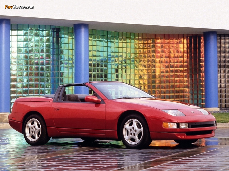 Nissan 300ZX Convertible (Z32) 1993–96 pictures (800 x 600)