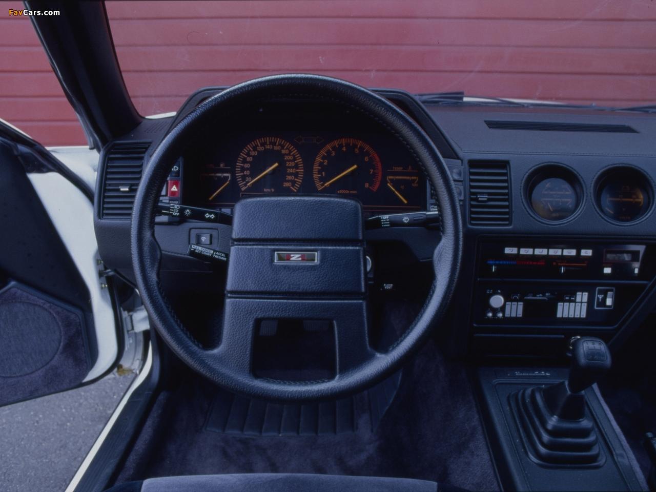 Photos of Nissan 300ZX (Z31) 1983–89 (1280 x 960)