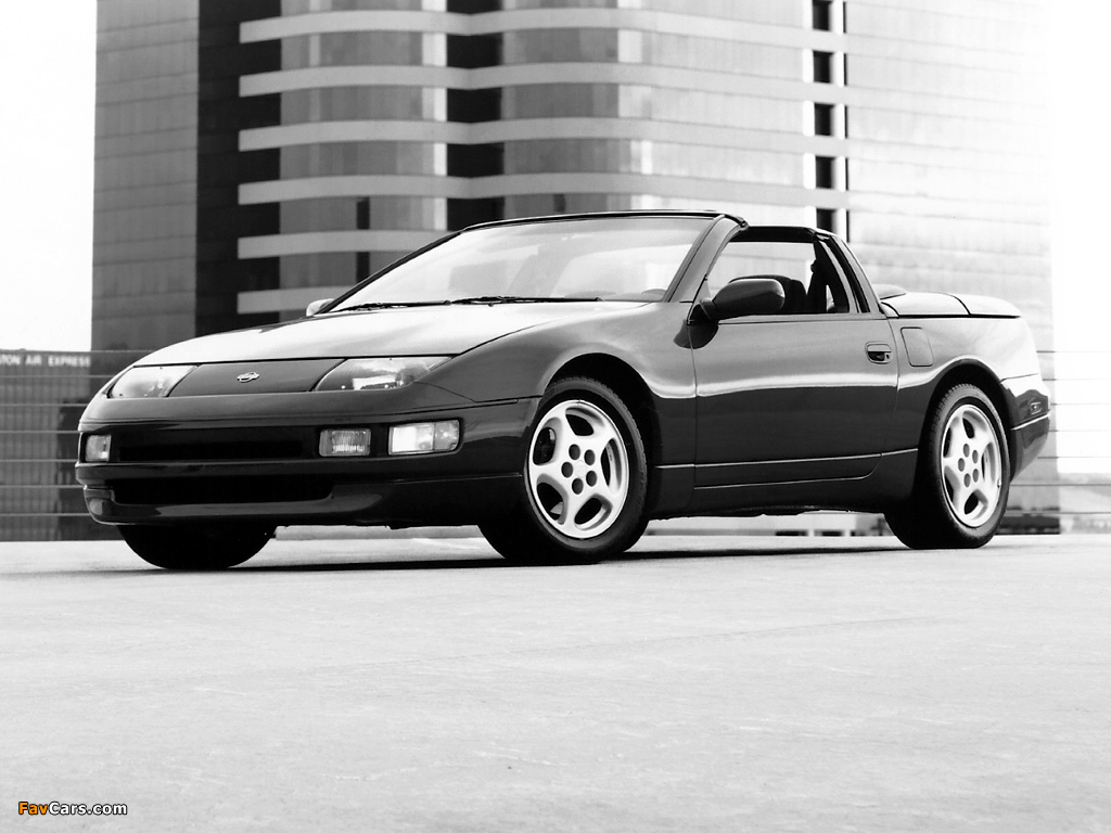 Pictures of Nissan 300ZX Convertible (Z32) 1993–96 (1024 x 768)