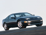 Nissan 300ZX T-Top US-spec (Z32) 1990–96 wallpapers