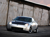 APS Nissan 350Z Twin-Turbo 2004 wallpapers