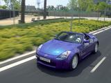 Nissan 350Z Roadster (Z33) 2005–06 wallpapers