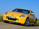 Images of Nissan 370Z Yellow 2009
