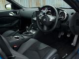 Nissan 370Z UK-spec 2009–12 photos