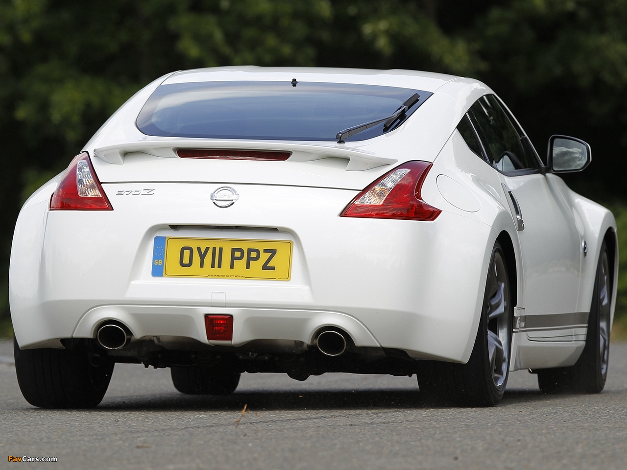 Nissan 370Z GT Edition UK-spec 2011–12 pictures (1280 x 960)