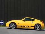 Pictures of Nissan 370Z Yellow 2009