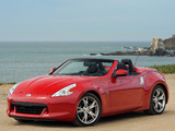 Pictures of Nissan 370Z Roadster US-spec 2009
