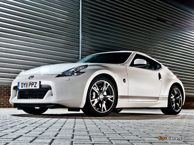 Pictures of Nissan 370Z GT Edition UK-spec 2011–12 (640 x 480)