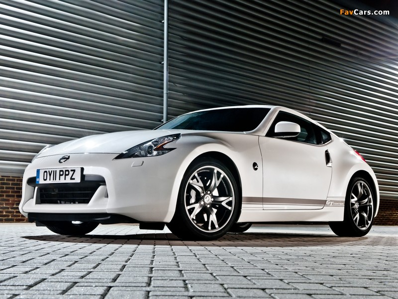Pictures of Nissan 370Z GT Edition UK-spec 2011–12 (800 x 600)