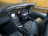 Nissan 370Z Roadster UK-spec 2009 wallpapers