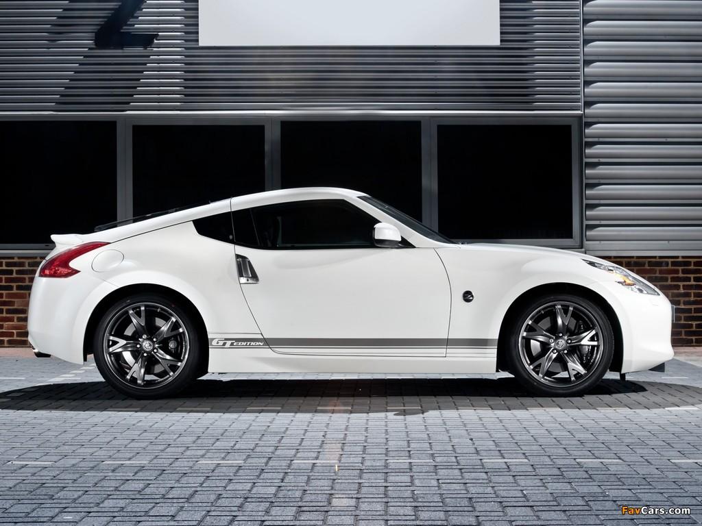 Nissan 370Z GT Edition UK-spec 2011–12 wallpapers (1024 x 768)
