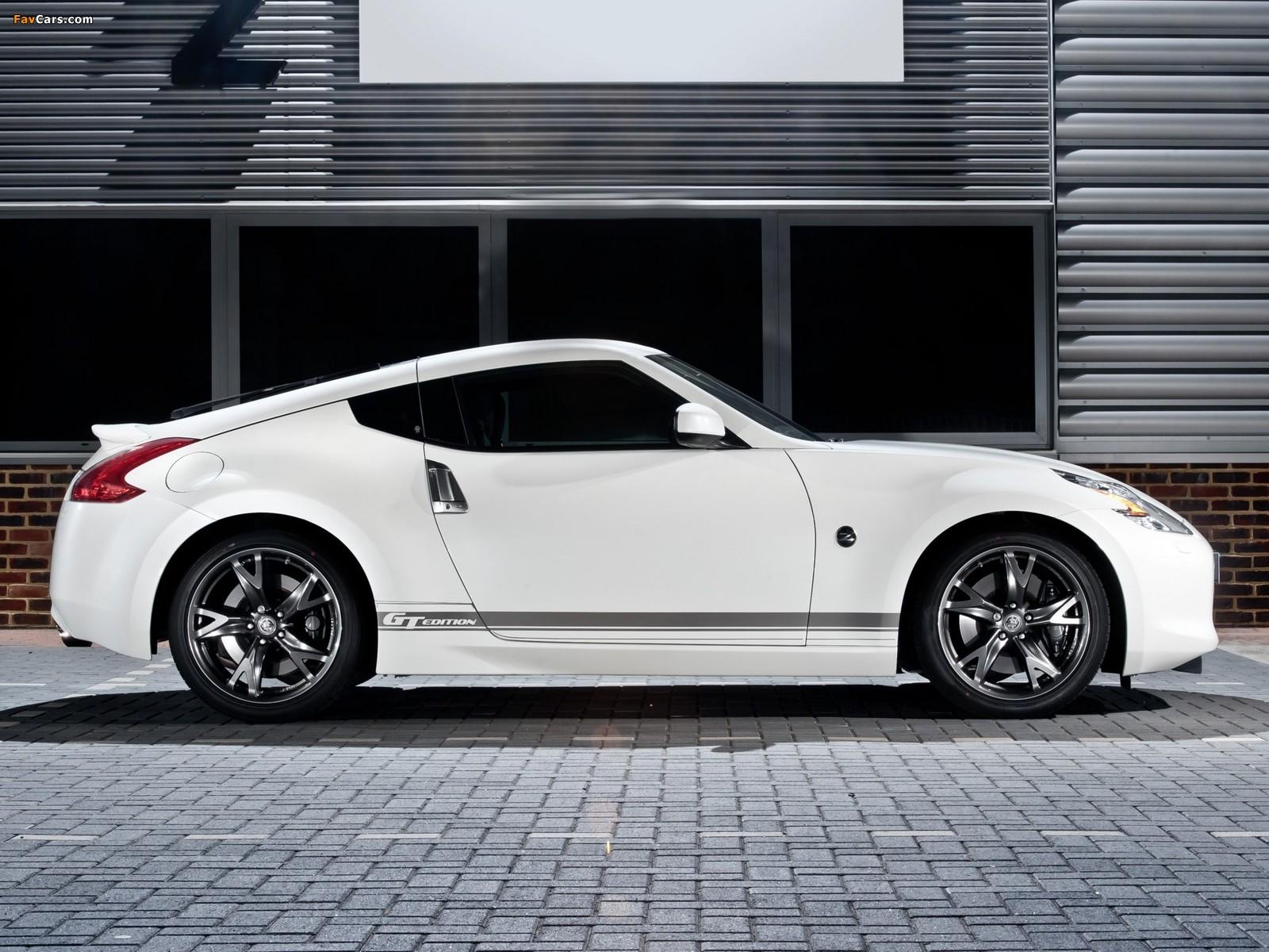 Nissan 370Z GT Edition UK-spec 2011–12 wallpapers (1600 x 1200)