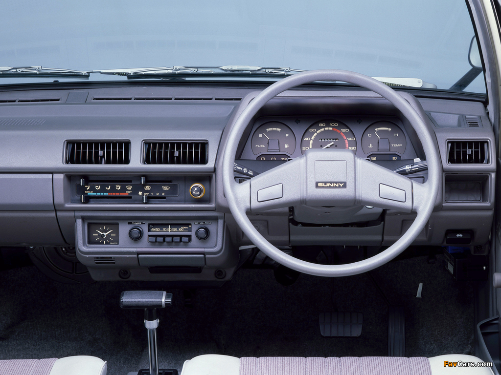 Nissan Sunny AD Van (VB11) 1982–85 pictures (1024 x 768)