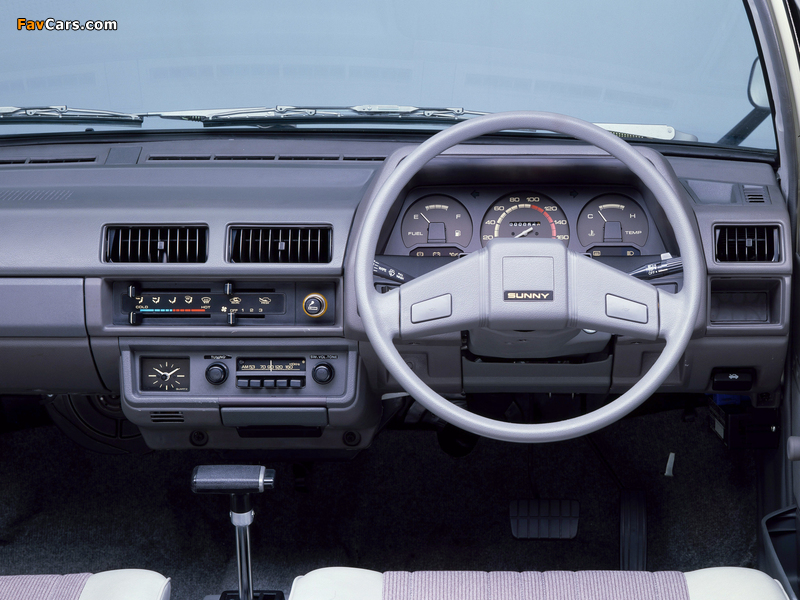 Nissan Sunny AD Van (VB11) 1982–85 pictures (800 x 600)