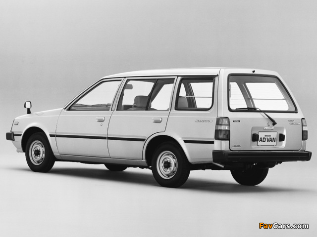 Nissan Sunny AD Van (VB11) 1985–90 images (640 x 480)