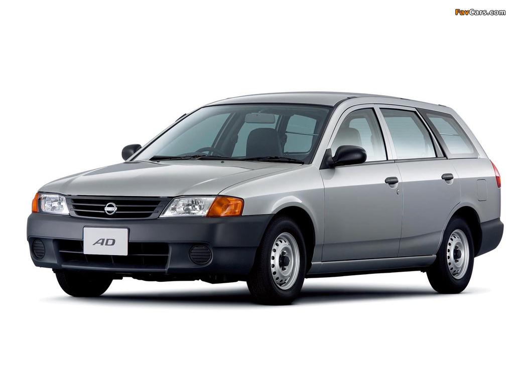 Nissan AD Van (Y11) 1999–2004 images (1024 x 768)