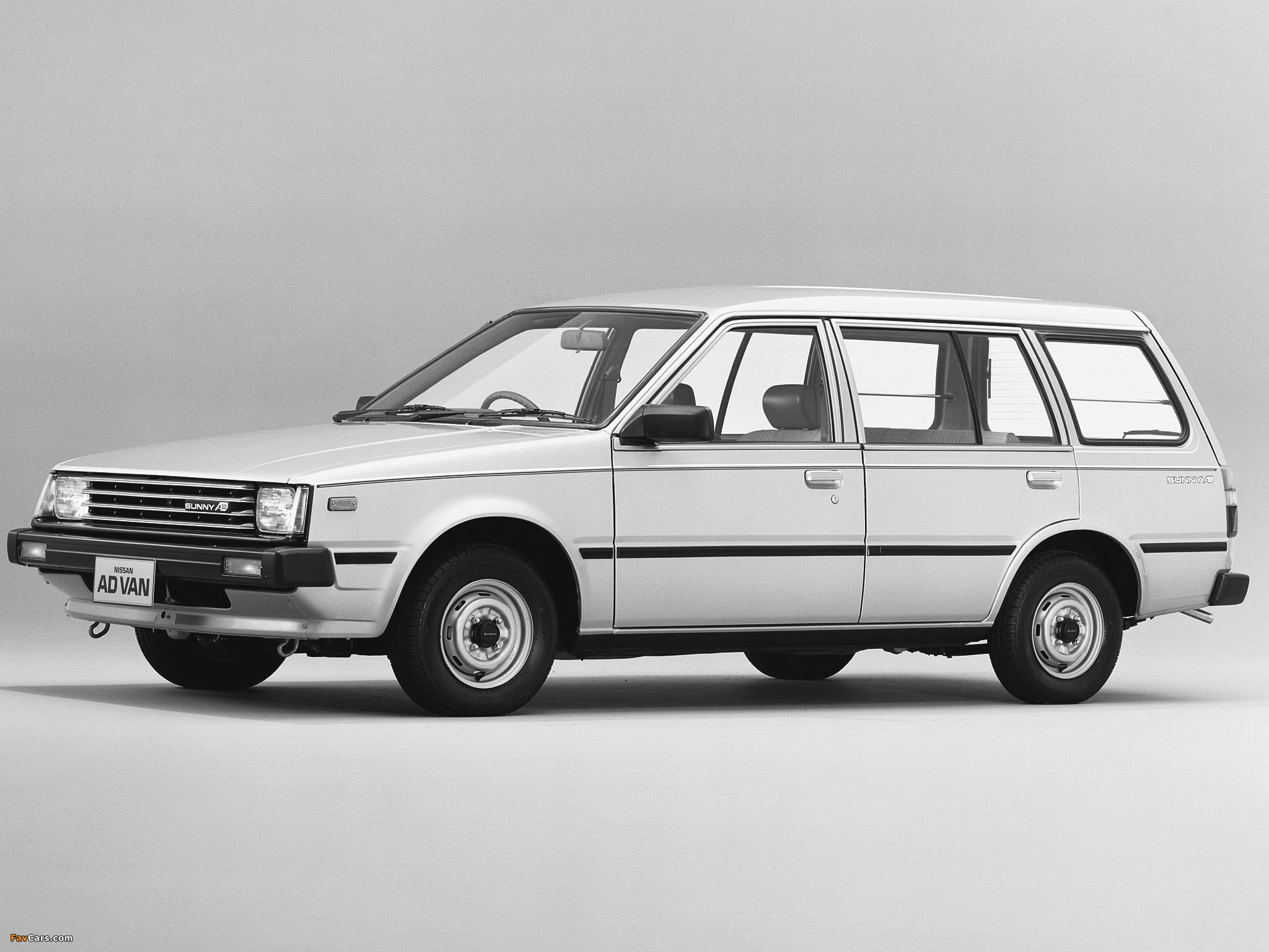 Pictures of Nissan Sunny AD Van (VB11) 1985–90 (2048 x 1536)