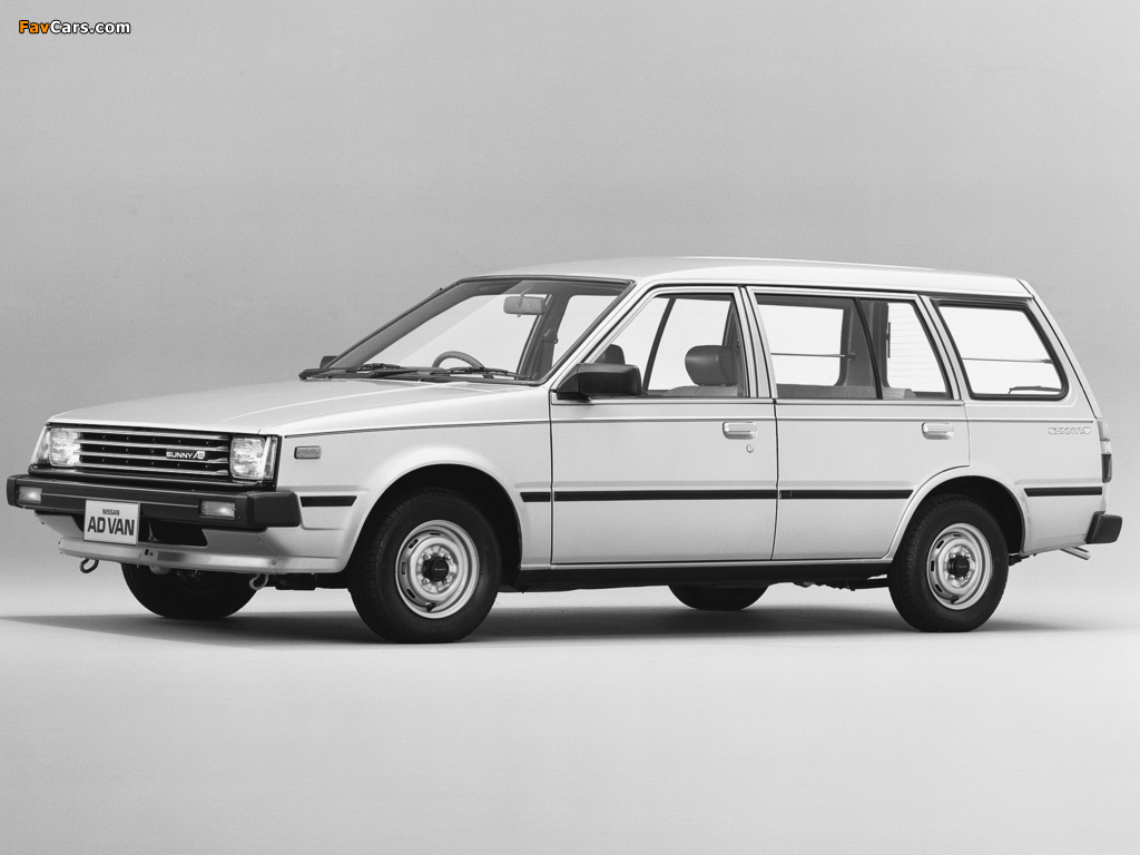 Pictures of Nissan Sunny AD Van (VB11) 1985–90 (1024 x 768)